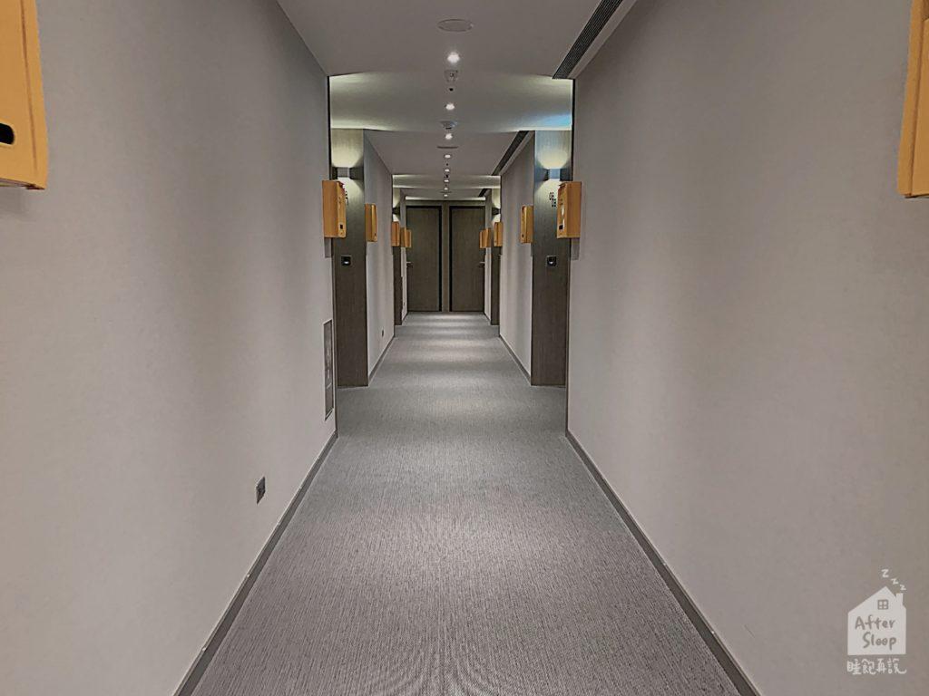 台北 新驛旅店 房間走廊