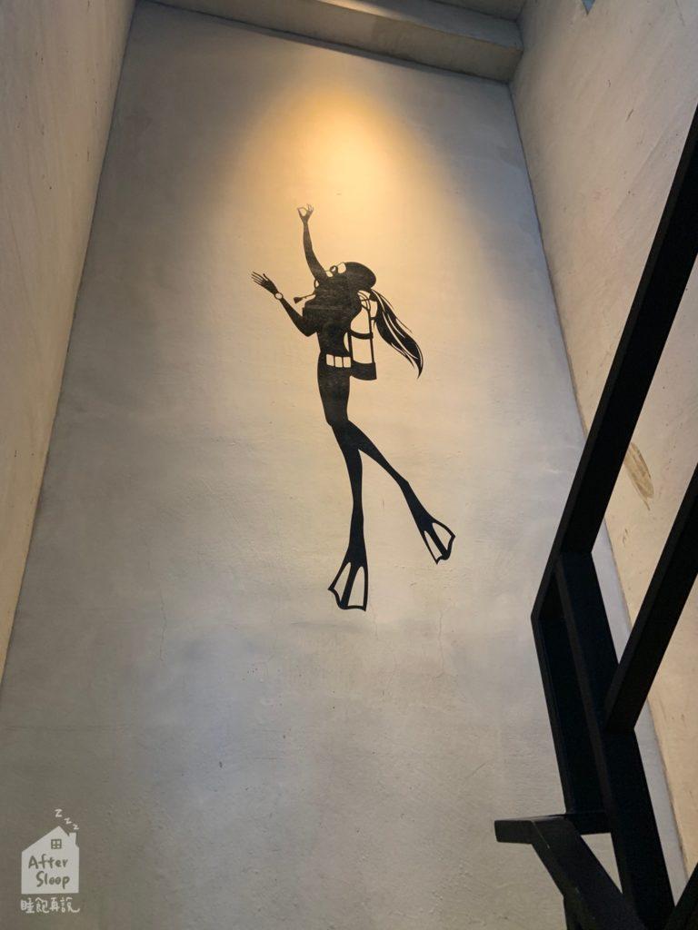 高雄 哈露咖啡 樓梯間