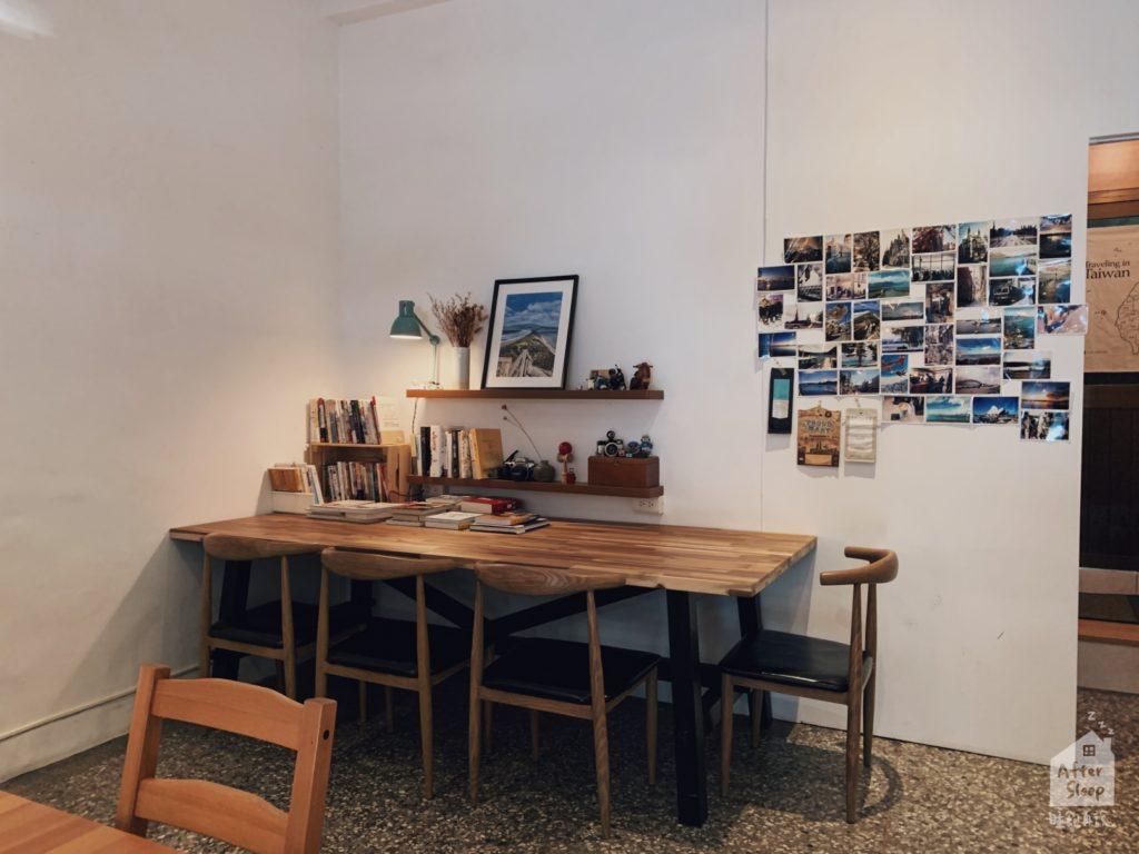 雲林崙背 鴻咖啡 長桌