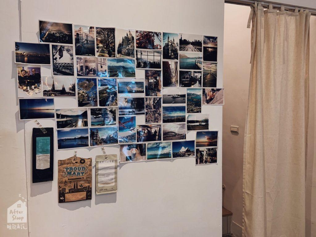 雲林崙背 鴻咖啡 照片牆