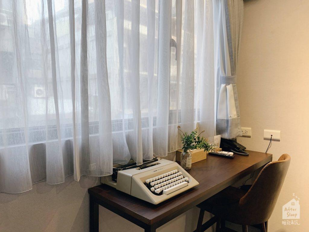 台北西門 町記憶旅店3館 打字機