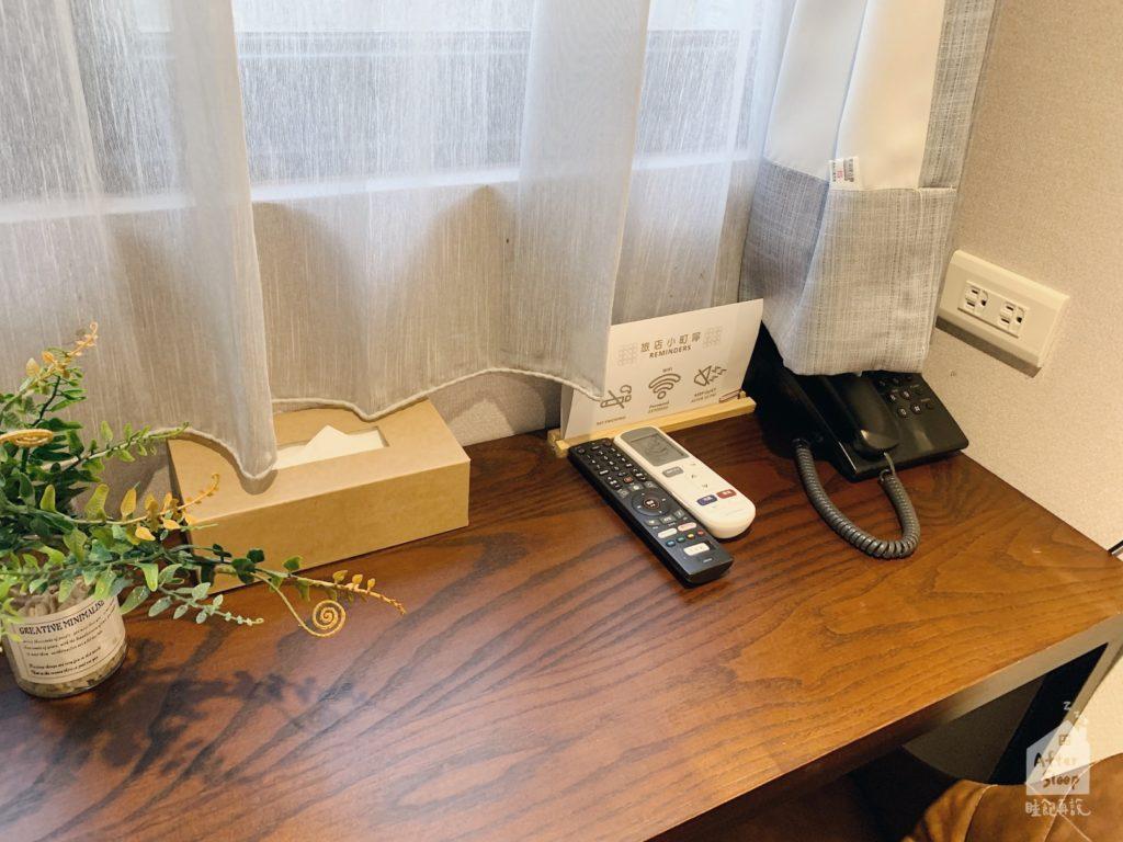 台北西門 町記憶旅店3館 書桌