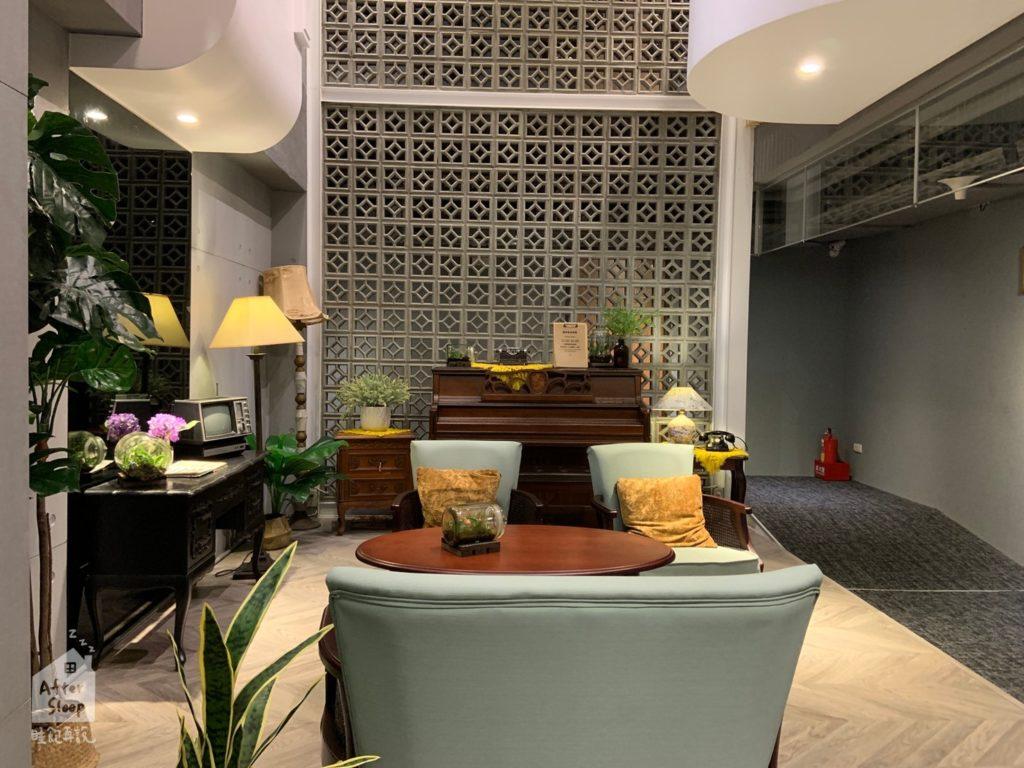 台北西門 町記憶旅店3館 大廳座位