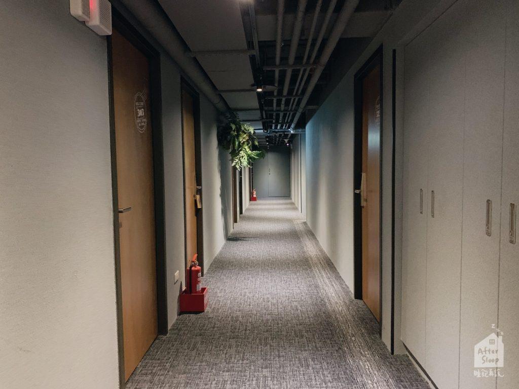 台北西門 町記憶旅店3館 房間走道