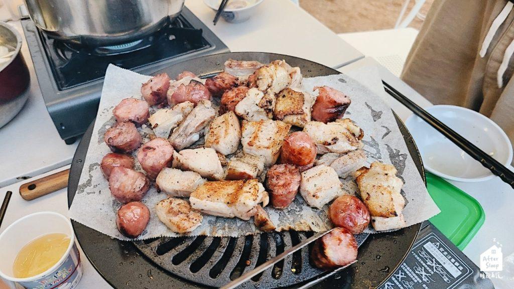 彰化芬園 一星伴露營區 烤肉