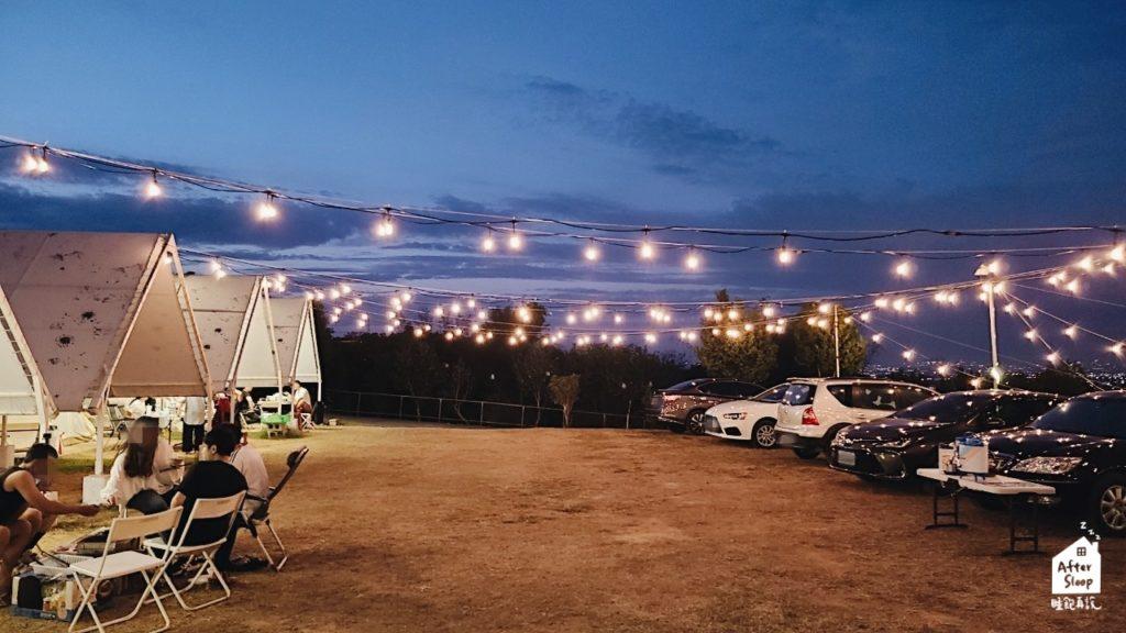 彰化芬園 一星伴露營區 夜景