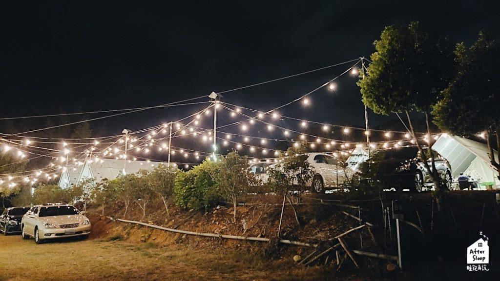 彰化芬園 一星伴露營區 網美燈